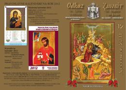 December - Mesačník Odkaz sv. Cyrila a Metoda