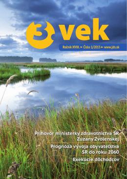 Číslo 1 - Jednota dôchodcov na Slovensku