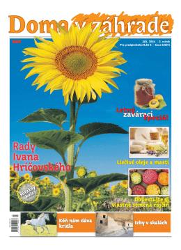 Júl 2014 - Doma v zahrade
