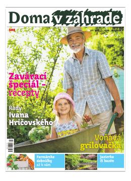 Júl 2013 - Doma v zahrade
