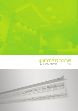 intermos katalog - Intermos Lighting SK