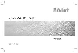 calorMATIC 360f