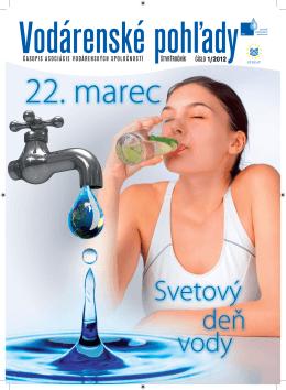 vodar pohlady 1-2012-new.indd - Asociácia vodárenských spoločností