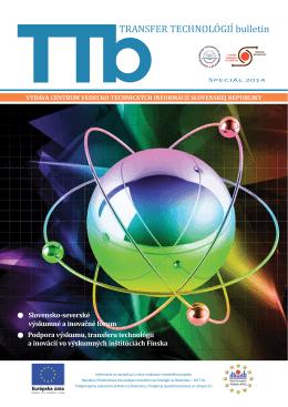 Špeciál 2014 - Transfer technológií - Centrum vedecko