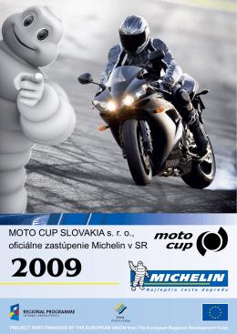 MOTO CUP SLOVAKIA s. r. o., oficiálne zastúpenie