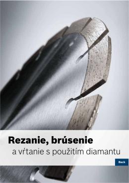Rezanie, brúsenie - Elektrické náradie Bosch