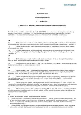 Text nariadenia