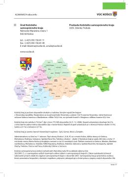 VÚC KOŠICE - Obce.info