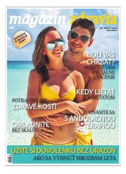 Júl 2013 - Magazín Zdravia