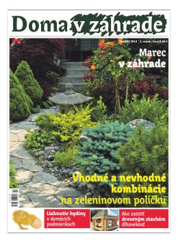 Marec 2013 - Doma v zahrade