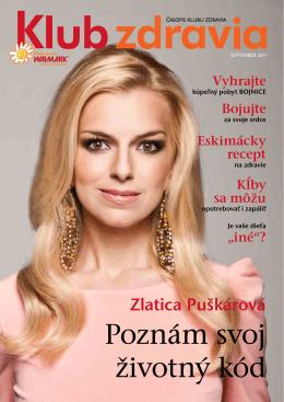 Jeseň 2011 PDF - Klub zdravia Walmark