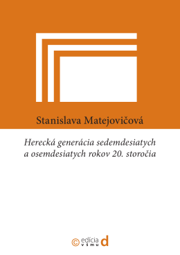 Stanislava Matejovičová