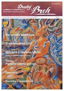 Prvý ročník, číslo 3 - 4/2010