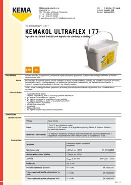 KEMAKOL ULTRAFLEX 177