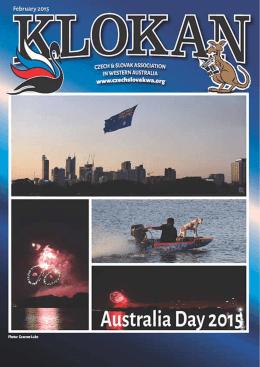 ProGraM - Česká a slovenská asociace v Západní Austrálii