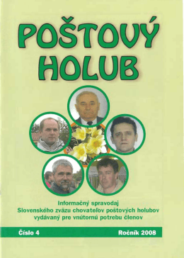 04 2008 - Holubár.sk