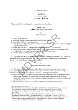 Pracovný návrh zákona o cestnej doprave - tlač.pdf