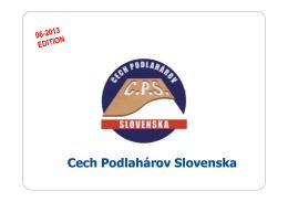 Podlahové vykurovanie - Cech podlahárov Slovenska