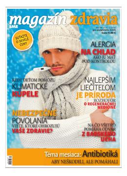 Január 2014 - Magazín Zdravia