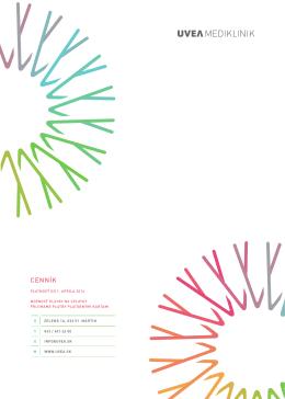 Cenník všetkých zákrokov na stiahnutie v PDF