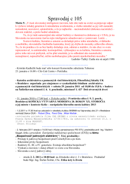 Spravodaj c 105 - szcpv