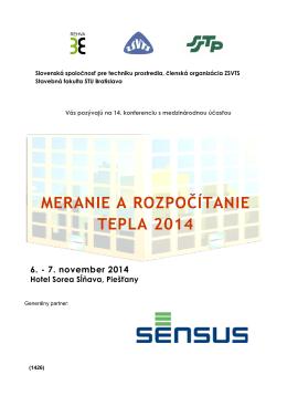 Slovenská spoločnosť pre techniku prostredia Bratislava
