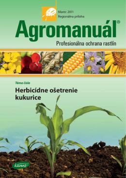 Téma čísla Herbicídne ošetrenie kukurice