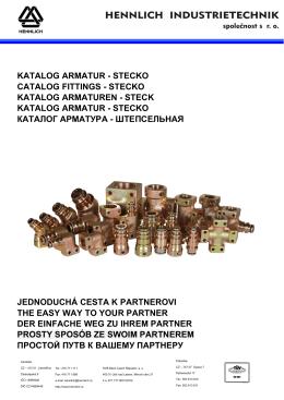 Katalog stecko - BDT Madencilik