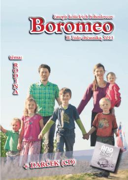 II. číslo Boromea, 2013 - Boromeo