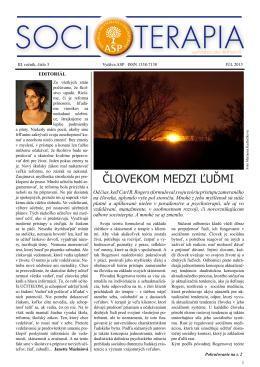 Júl 2013 - Socioterapia.sk