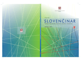 stiahnuť - Slovenská asociácia učiteľov slovenčiny