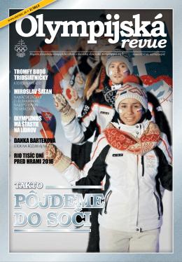 Olympijská revue 2/2013 - Slovenský olympijský výbor