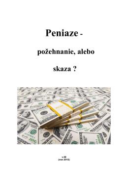 Peniaze-