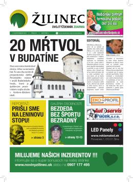 v Budatíne - Noviny Žilinec