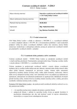 PDF - Centrum sociálnych služieb