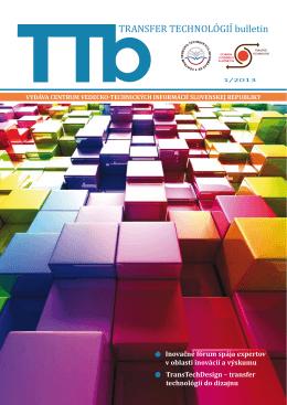 1/2013 - Transfer technológií - Centrum vedecko