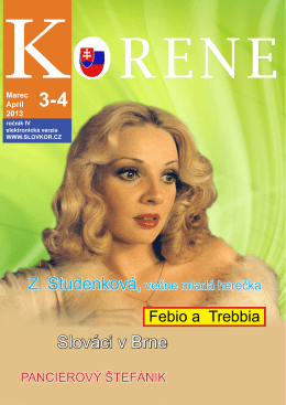 slovenské korene 2013 3-4