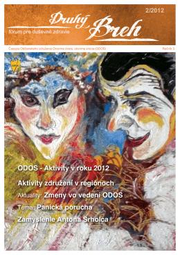 Tretí ročník, číslo 2/2012