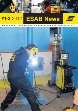 ESAB News 1-2 2012