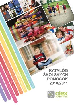 katalóg školských pomôcok 2010/2011
