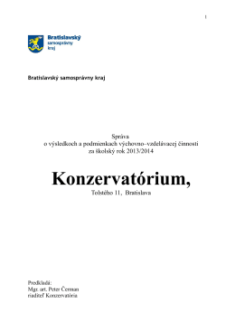 Výročná správa 2013/2014.