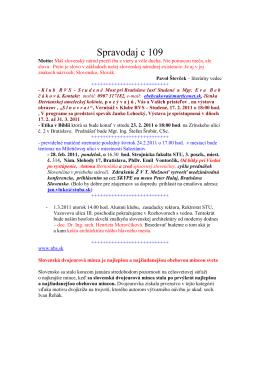 Spravodaj c 109 - szcpv