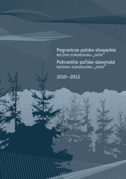 pogranicze polsko-słowackie 2010-2012