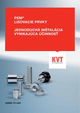 PEM® - Lisovacie prvky | KVT