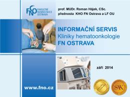 klinika hematoonkologie