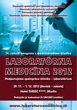 Bulletin - Laboratórna medicína