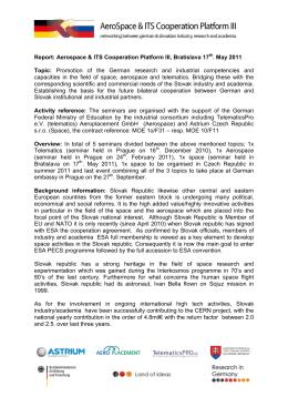 Záverečná správa (v angličtine) (2 MB, pdf)