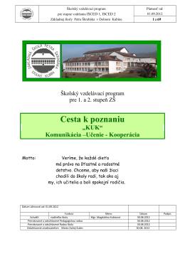 Základná škola s materskou školou Lehôtka