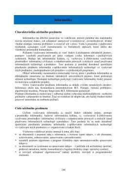 Informatika - Gymnázium Krompachy