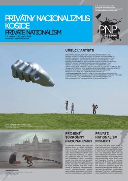 Privátny nacionalizmus – Košice 27.3. – 30.4.2014 PDF